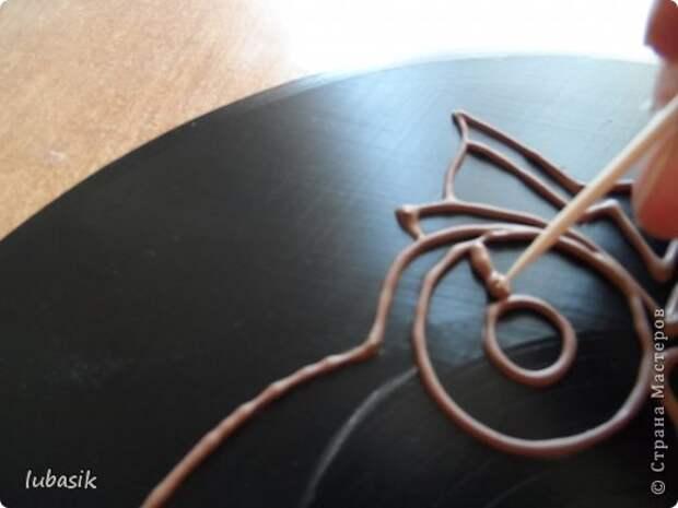 Декор предметов Мастер-класс Роспись Как я делала панно - по просьбам мастериц фото 26