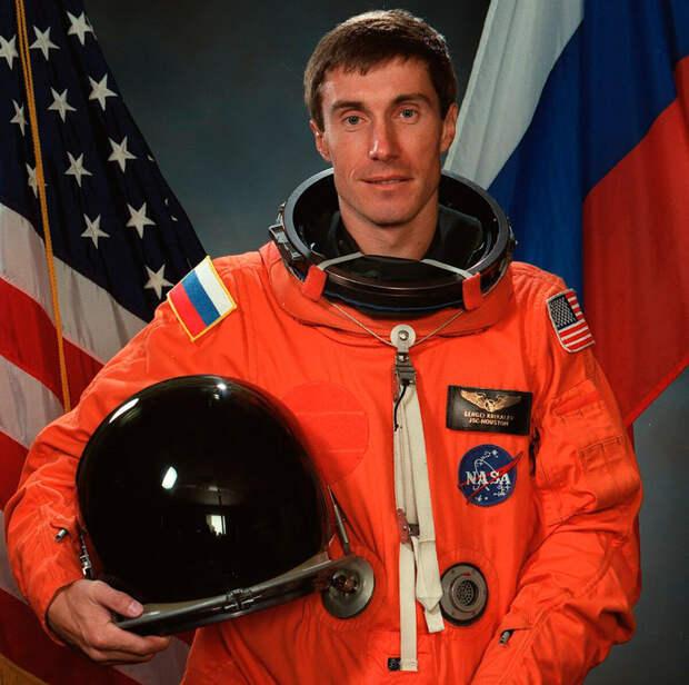 Сергей Крикалев, официальный портрет НАСА