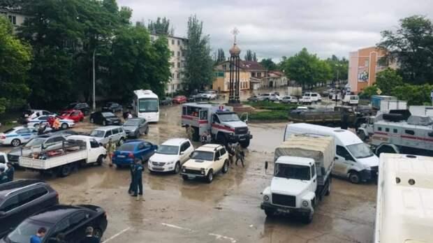 Власти затопленной Ялты попросили помощи у командующего Черноморским флотом ВМФ РФ