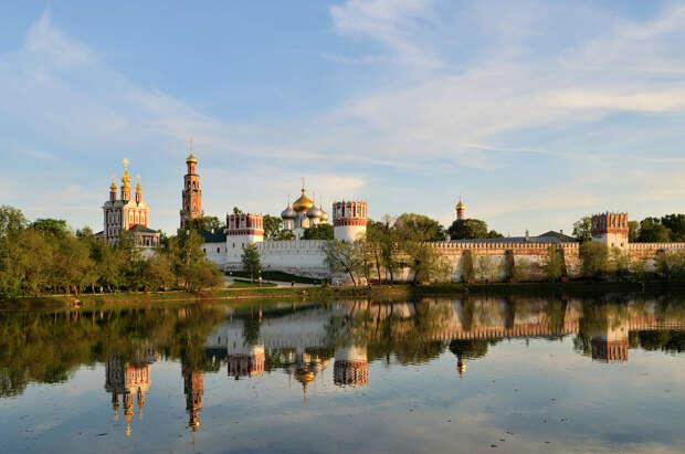 Новодевичий женский монастырь, Москва, Россия, Европа