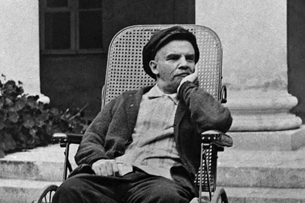 Ленин в Горках, 1923 год