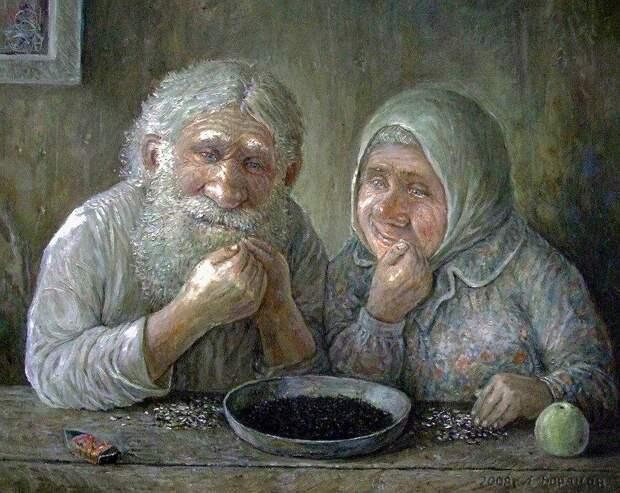 История семечек на Руси