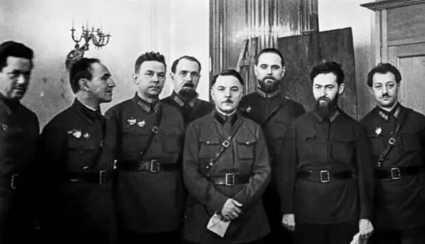 Будущие фигуранты дела Тухачевского.
