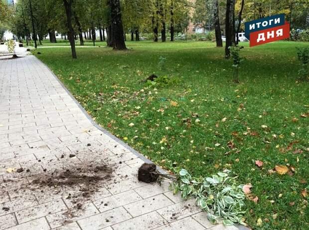 Итоги дня: разрушения на Центральной площади Ижевска, инцидент с туристом из Удмуртии и прогноз погоды