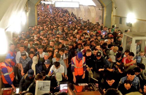 Орды мигрантов заполонят Россию?