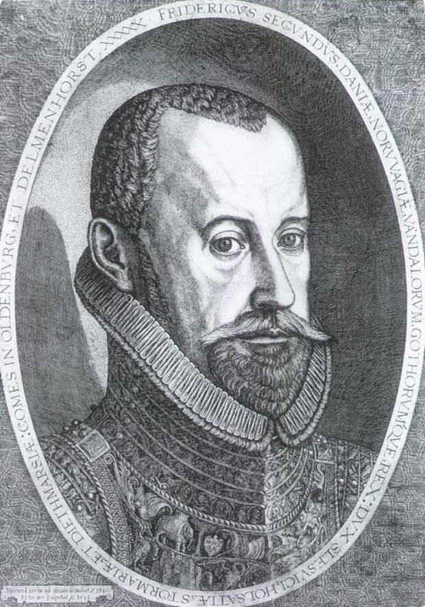Король Дании Фредерик II (1559–1588) - Датский флот Нового времени: становление   Warspot.ru