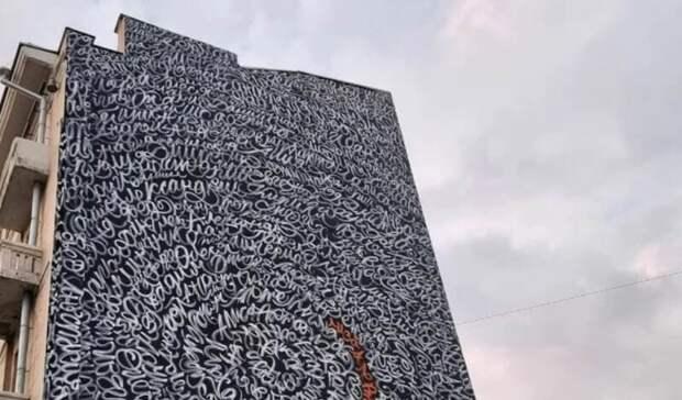 Волонтеры «Лиза Алерт» защитили граффити настене сименами пропавших детей