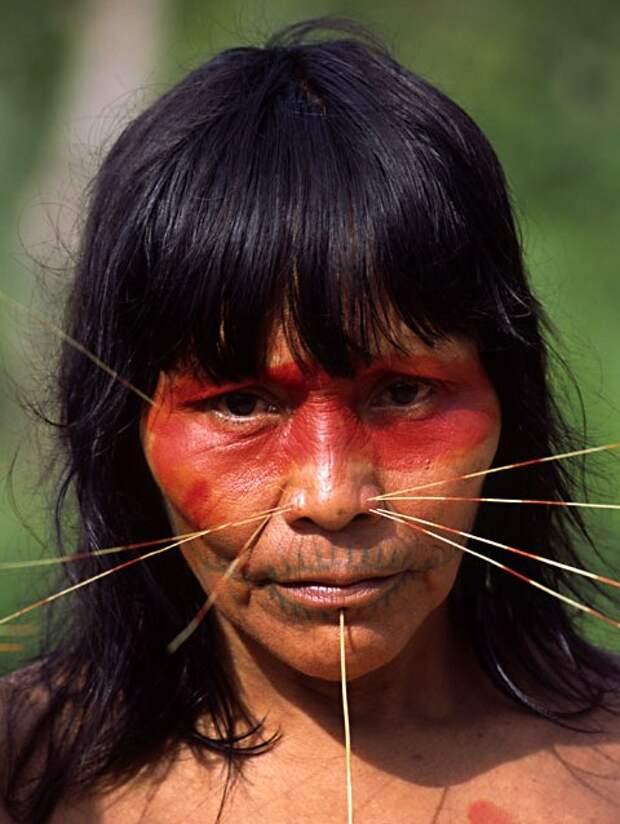 Племя Матсес - правдолюбцы, воины и ботаники с Амазонки