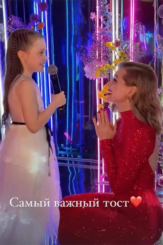 Кристина Асмус с дочерью Настей