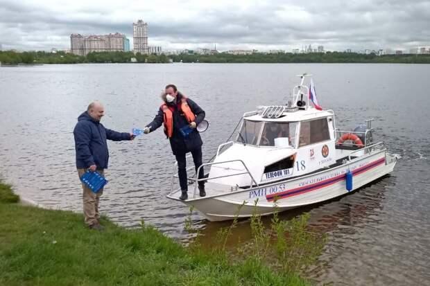 В мае московские спасатели оказали помощь 52 пострадавшим