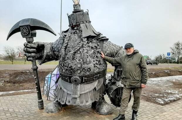Металлические существа Владимира Каноник