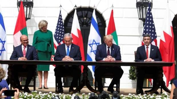 В Вашингтоне подписано соглашение между Израилем, ОАЕ и Бахрейном