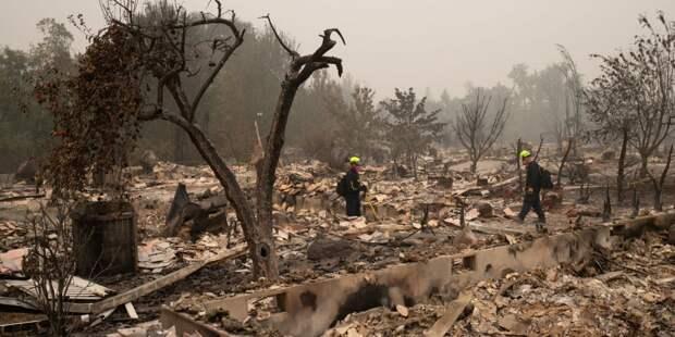 В США бушует почти сотня лесных пожаров: число жертв возросло до 33