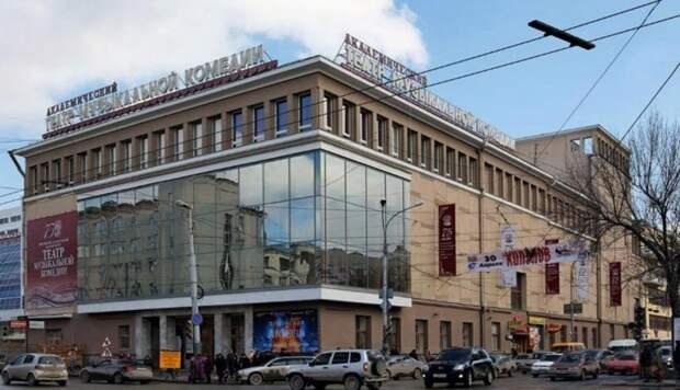 Большие гастроли Свердловской музкомедии в Крыму