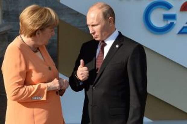 В Германии рассказали, как Меркель и Путин ругались из-за Украины
