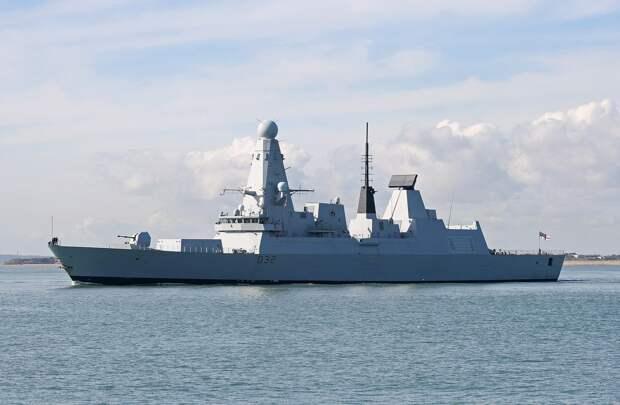 Секретные документы о провокации эсминца Defender у Крыма попали в СМИ