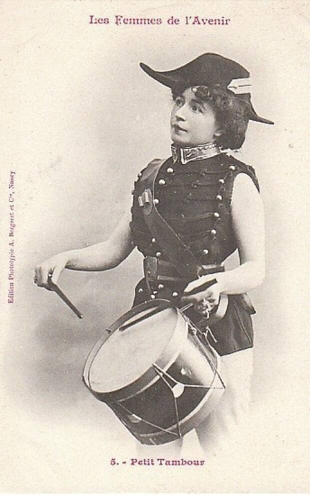 Женщина-барабанщик