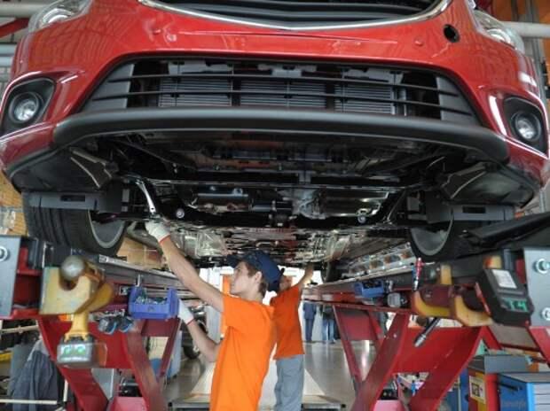 Российские предприятия могут увеличить выпуск автомобилей в 2015 году на 1,5%