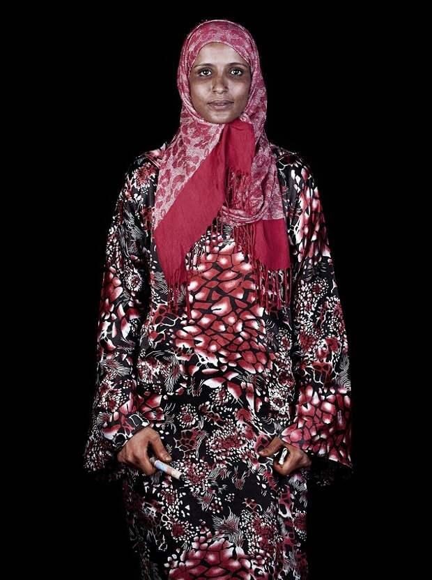 мусульманка в хиджабе фото