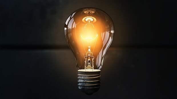 Лампочка, Идея, Лит, Вдохновение, Свет