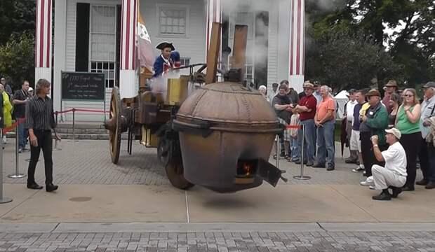 Cамый первый: как ездит один из первых грузовиков