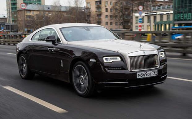 Блог Петра Меньших: Rolls Royce Wraith – сила без напряга