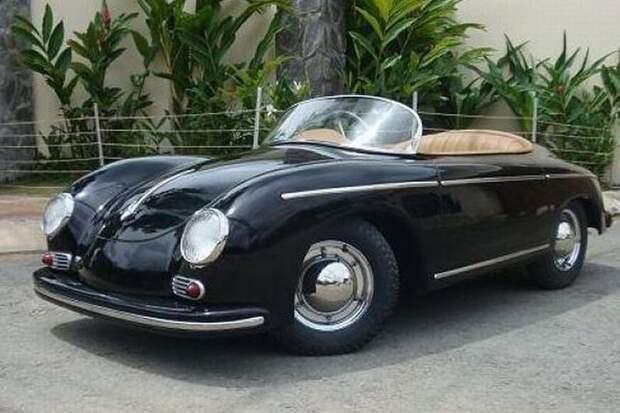 Porsche 356 Speedster авто, игрушка, копия, миниавтомобиль, моделизм, модель, самоделка, своими руками