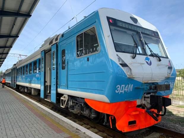 Новые электрички в Крыму: цена, время в пути, фото интерьера