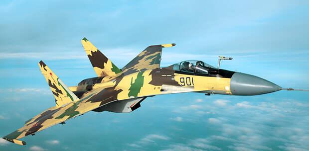 """В Европе считают Су-35 """"самым опасным русским истребителем"""""""