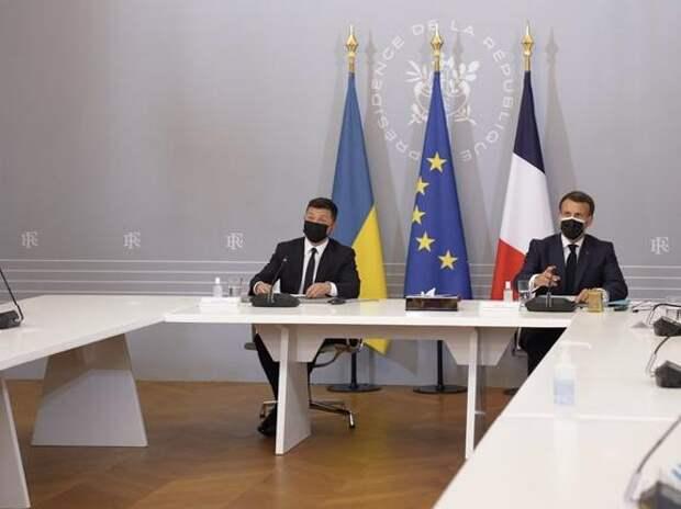 Президент Франции Макрон надеется провести переговоры с Владимиром Путиным в ближайшее время