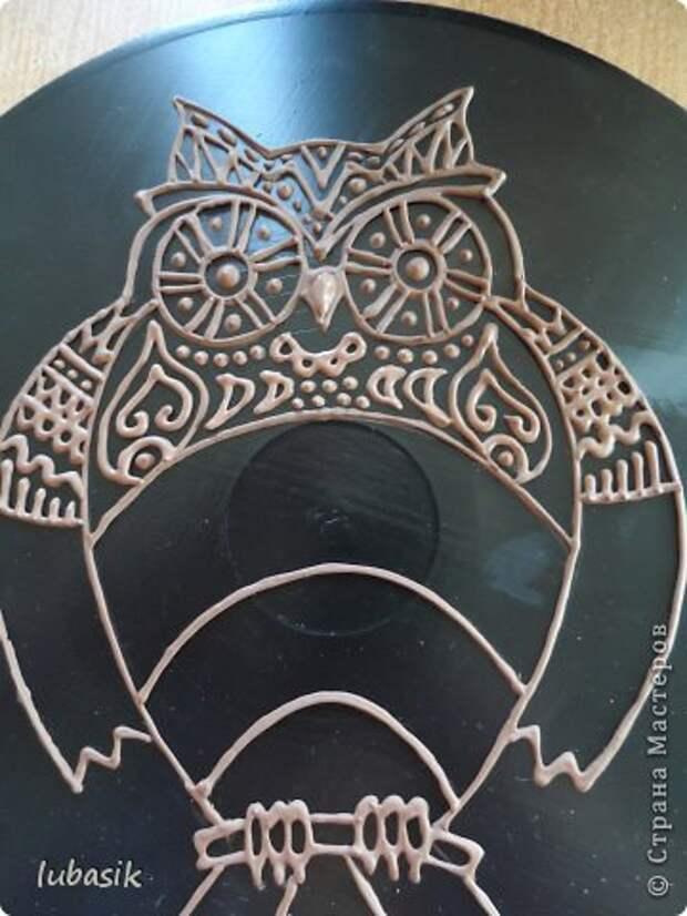 Декор предметов Мастер-класс Роспись Как я делала панно - по просьбам мастериц фото 29