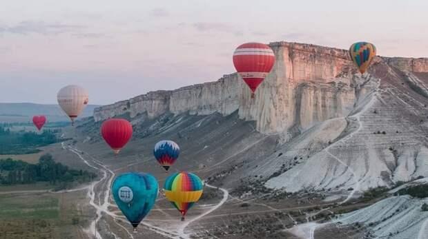 В Крыму впервые проводят воздушный биатлон