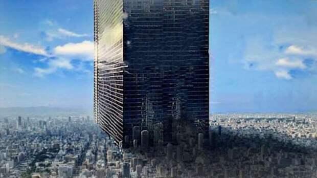 Достроят ли арабы небоскреб высотой 1000 метров (4 фото + видео)