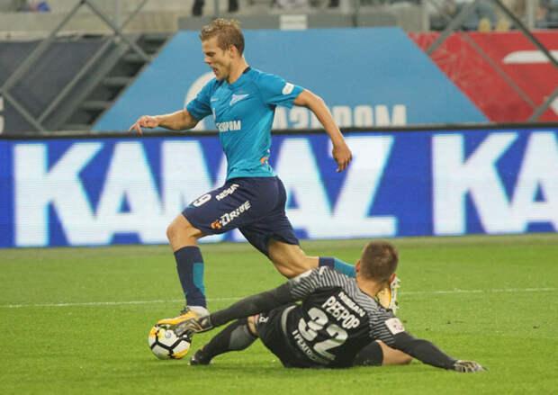 «Кокорин был важен для нас. Он один из лучших футболистов России». Семак - о нападающем, которого не хватает «Зениту»
