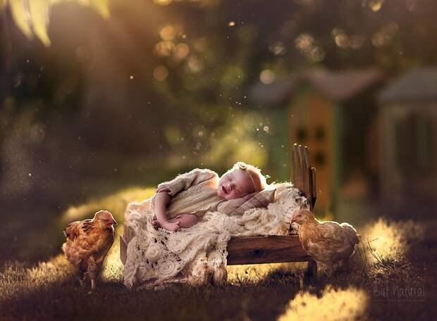 Мимимишность этих 9 фото младенцев с животными зашкаливает