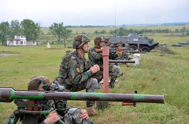 Крупные учения Национальной Армии прошли в Кагуле