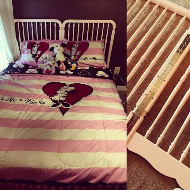 Когда дети выросли, а кроватка осталась