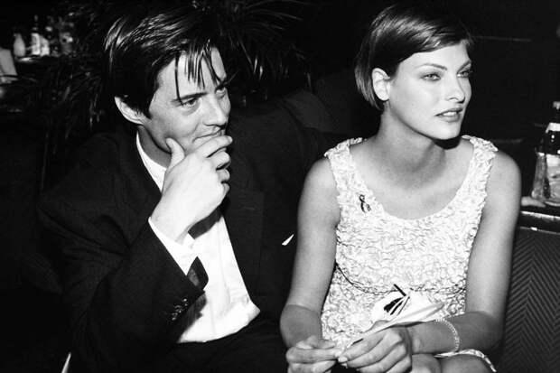 Кайл Маклахлен и Линда Евангелиста, 1995 год.
