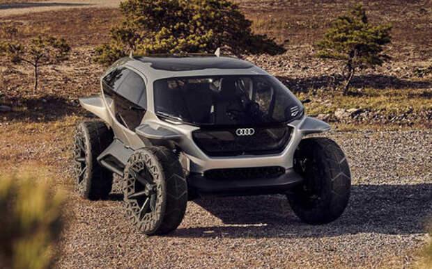 Без фар и экранов, зато с дронами: новый концепт Audi