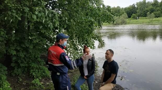 Спасатели усиливают профилактические меры вблизи водоемов