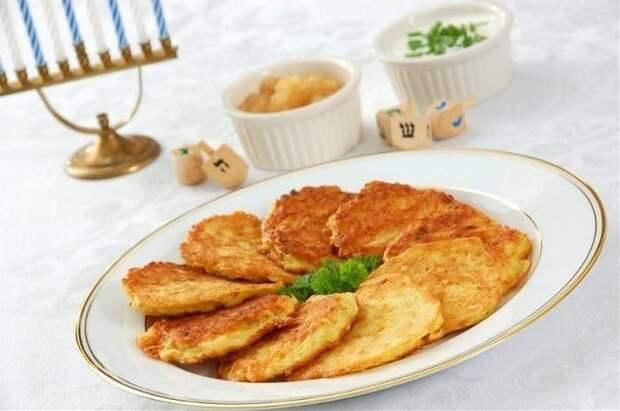 Латкес (драники картофельные)