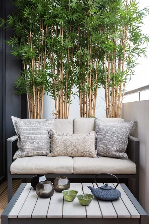 Крутые идеи дизайна маленьких балконов