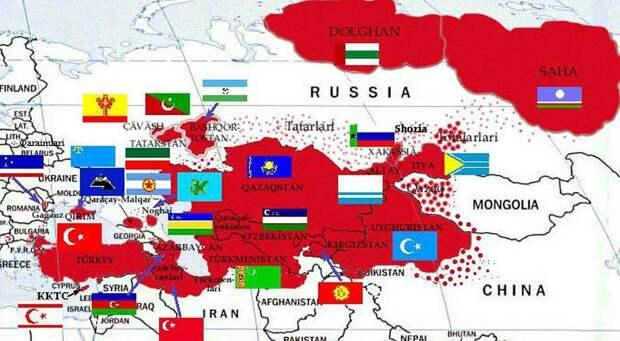 «Великий Туран» присмотрел свои земли в России
