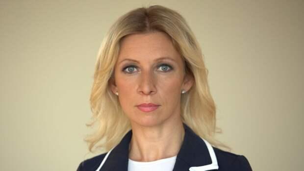 Захарова объяснила провокацию Великобритании в Черном море