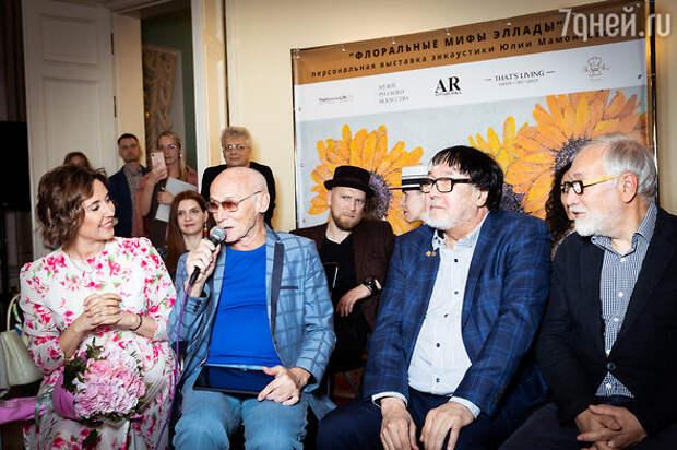 Звезды посетили открытие выставки энкаустической живописи