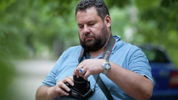 Писатель Глеб Бобров