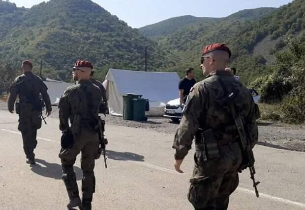 Войска НАТО вошли на север Косово