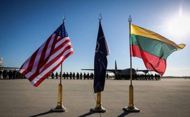 Сейм Литвы постановил требовать постоянного присутствия войск США