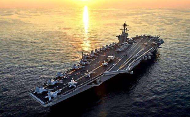 ВМС США может отказаться от авианосцев и эсминцев