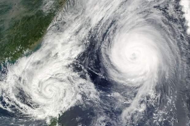 Китай объявил «синее» предупреждение в связи с тайфуном «Хагупит»
